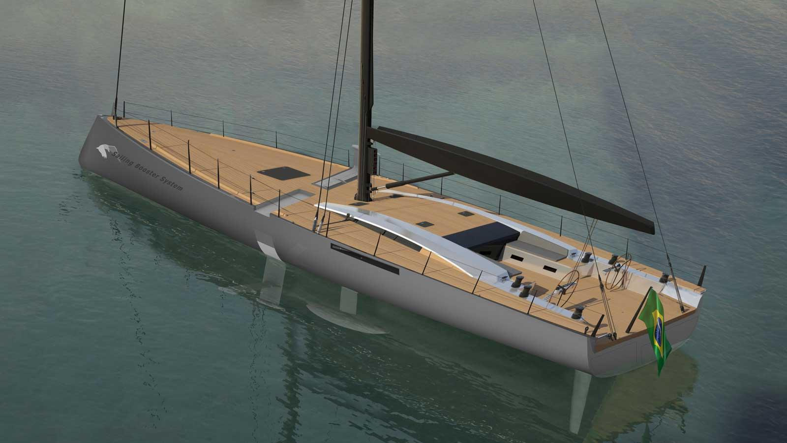 MCP Yachts vai construir veleiro de 24 metros-boatshopping