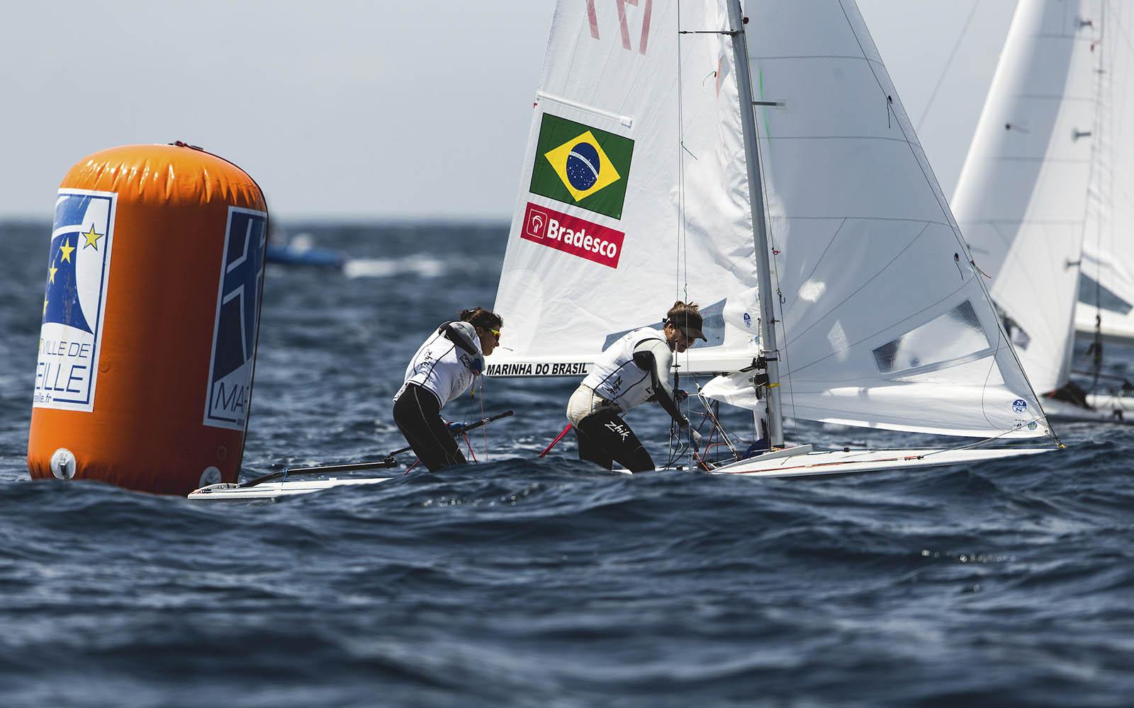 Brasil vence regatas em duas classes no 1º dia da Final da Copa do Mundo-boatshopping