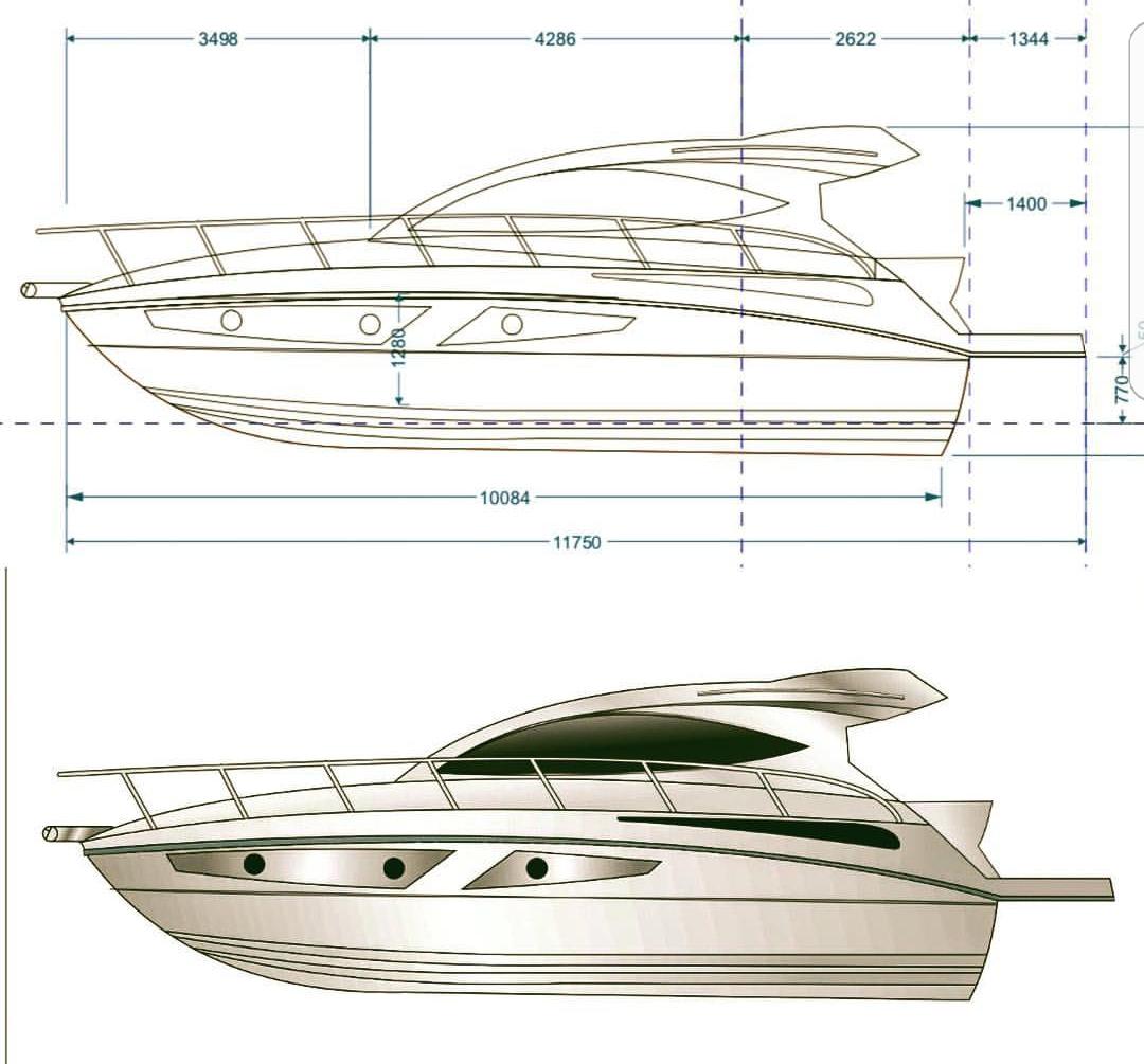 projeto nova solara 360 ht - boat shopping