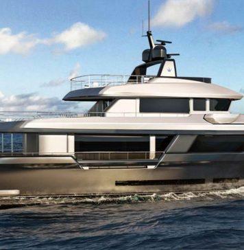 Cantieri Navali Chioggia revela novo iate explorer Ocean King-boatshopping