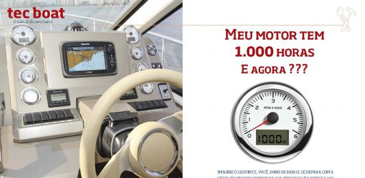 Motor de 1000 horas - boat shopping