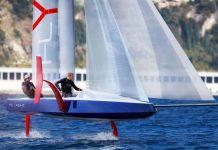 flyacht veleiro com foil - boat shopping
