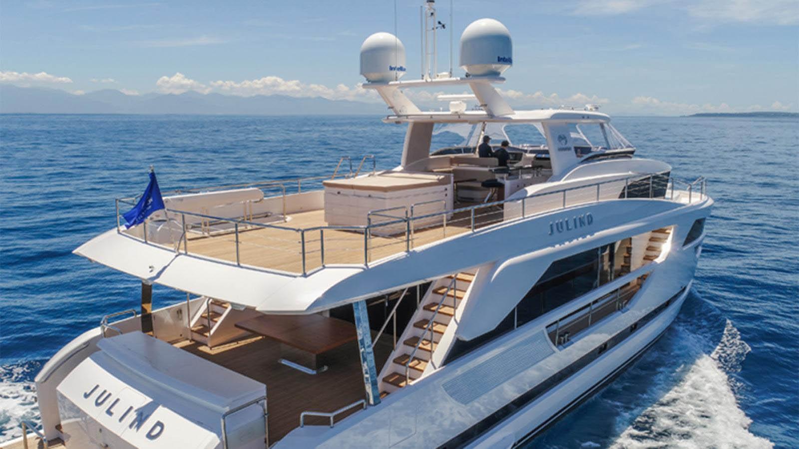 Horizon entrega sexta unidade do iate FD85-boatshopping