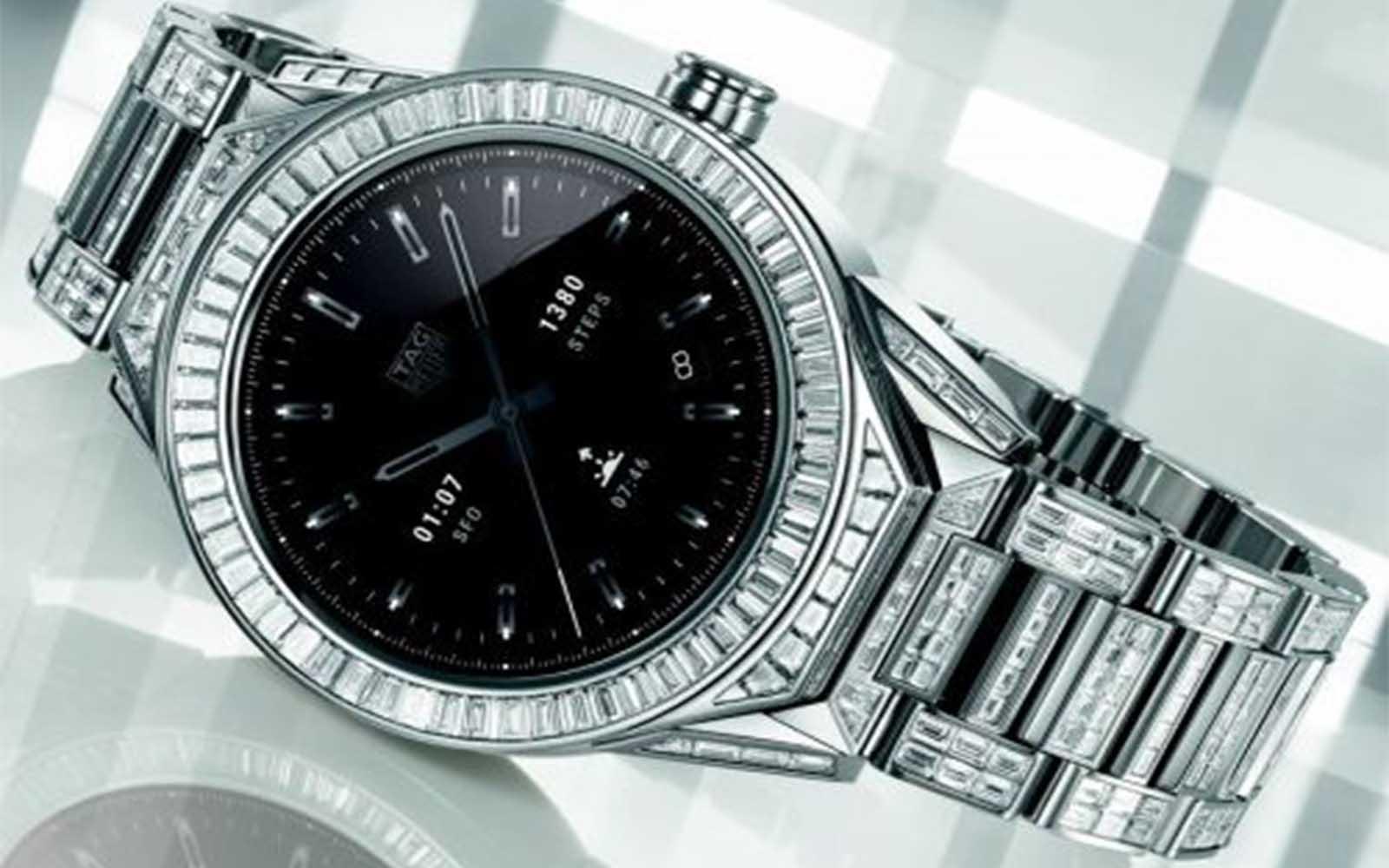 a20e3fd5c00 Conheça o smartwatch mais caro do mundo  Tag Heuer 45 Connected ...