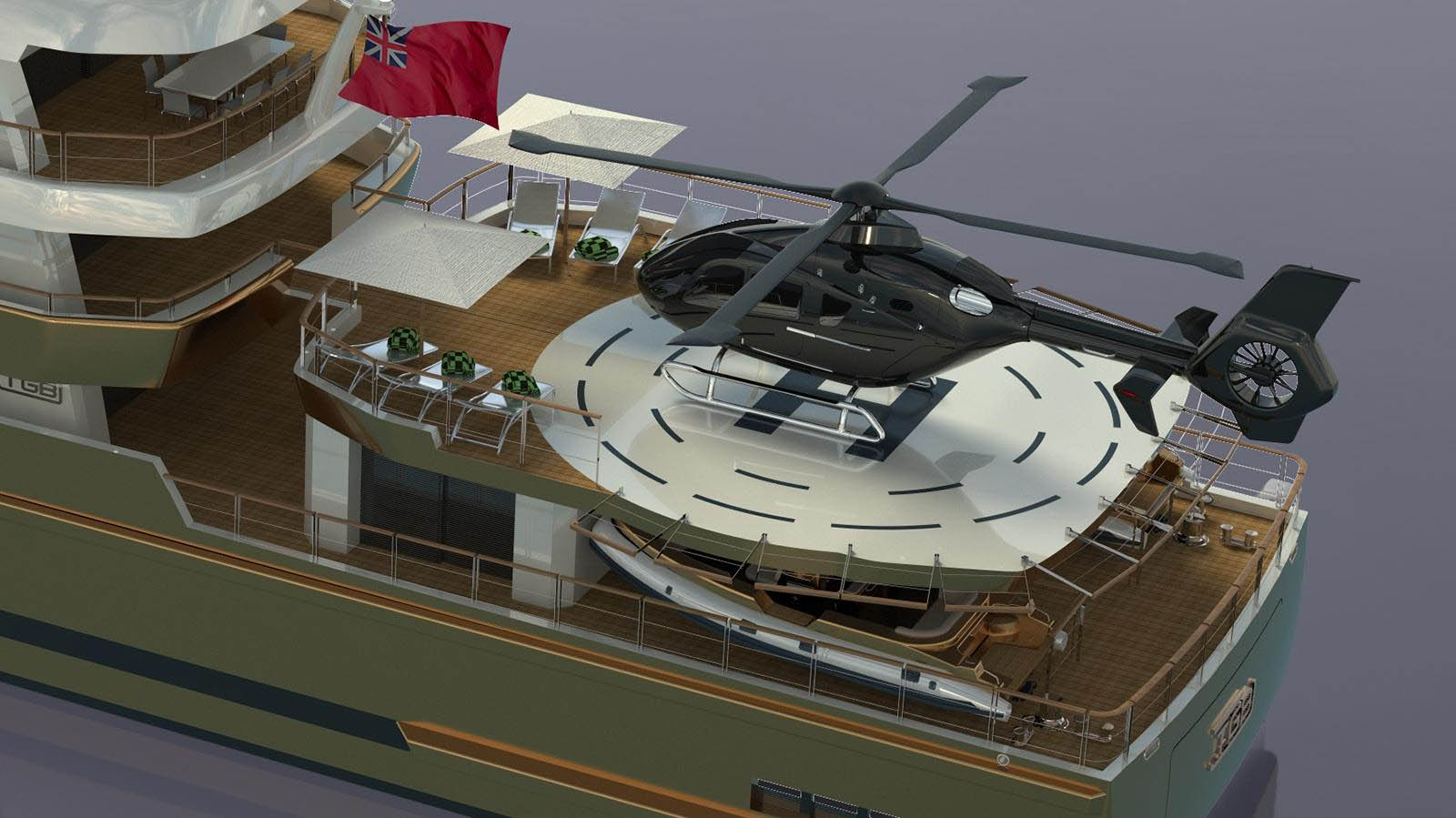 Conrad Shipyard revela conceito de mini iate explorer-boatshopping