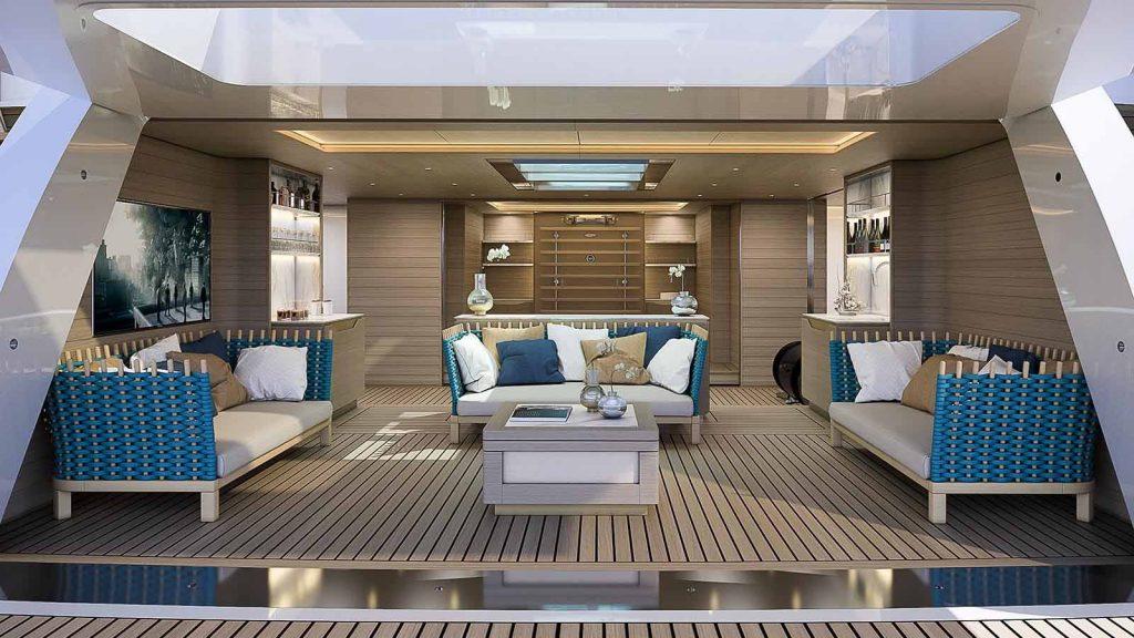 Baglietto revela interior do superiate Projeto 231-boatshopping