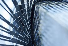 Coluna do Nasseh fibras de carbono, o cristal negro-boatshopping
