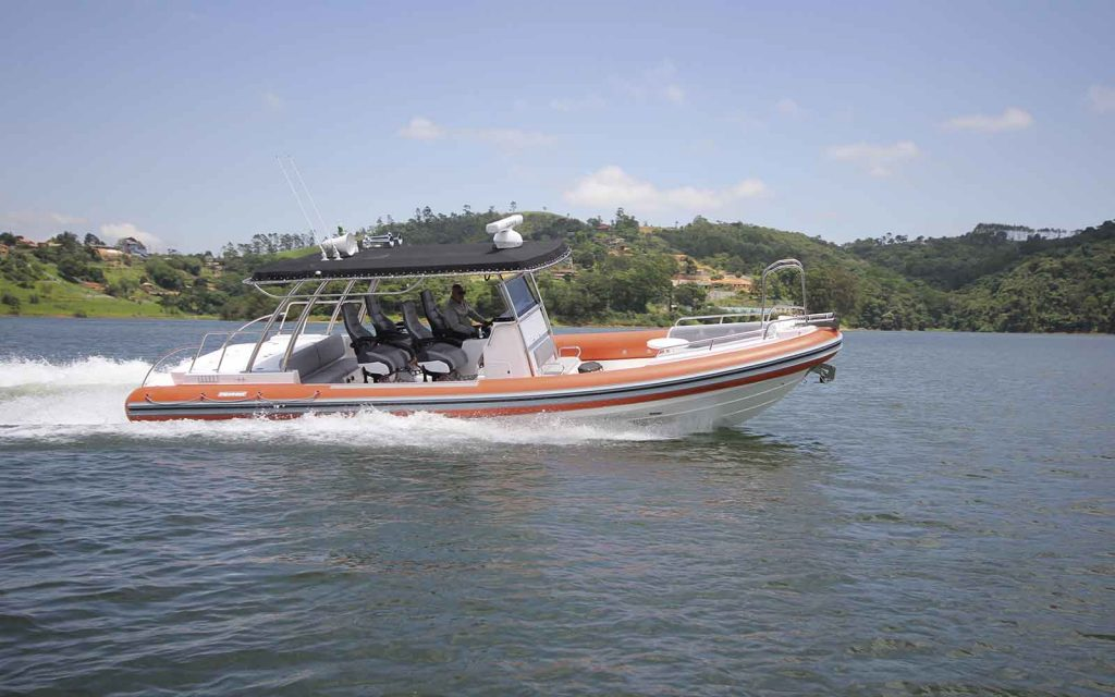 boat teste flexboat sr 1000 super custom - boat shopping