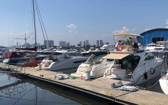 regatta yachts bate recorde de venda - boat shopping