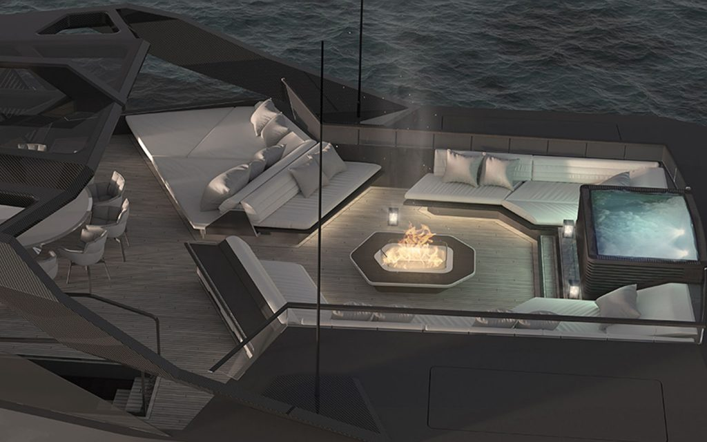 CRN apresenta primeiros renders do superiate de 75m Begallta-boatshopping