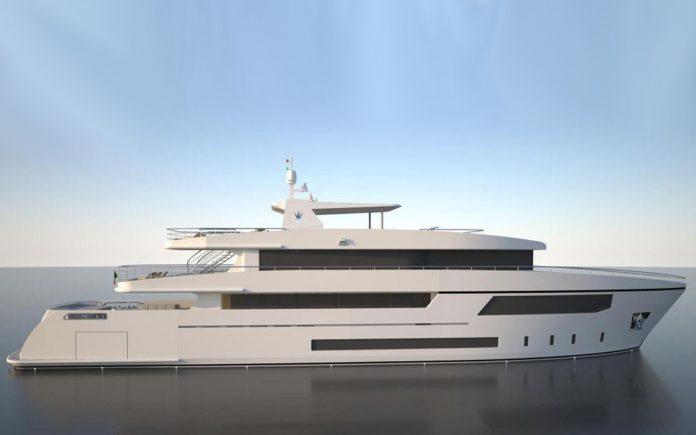 Cantieri Navali Chioggia apresenta iate Ocean Queen 150-boatshopping
