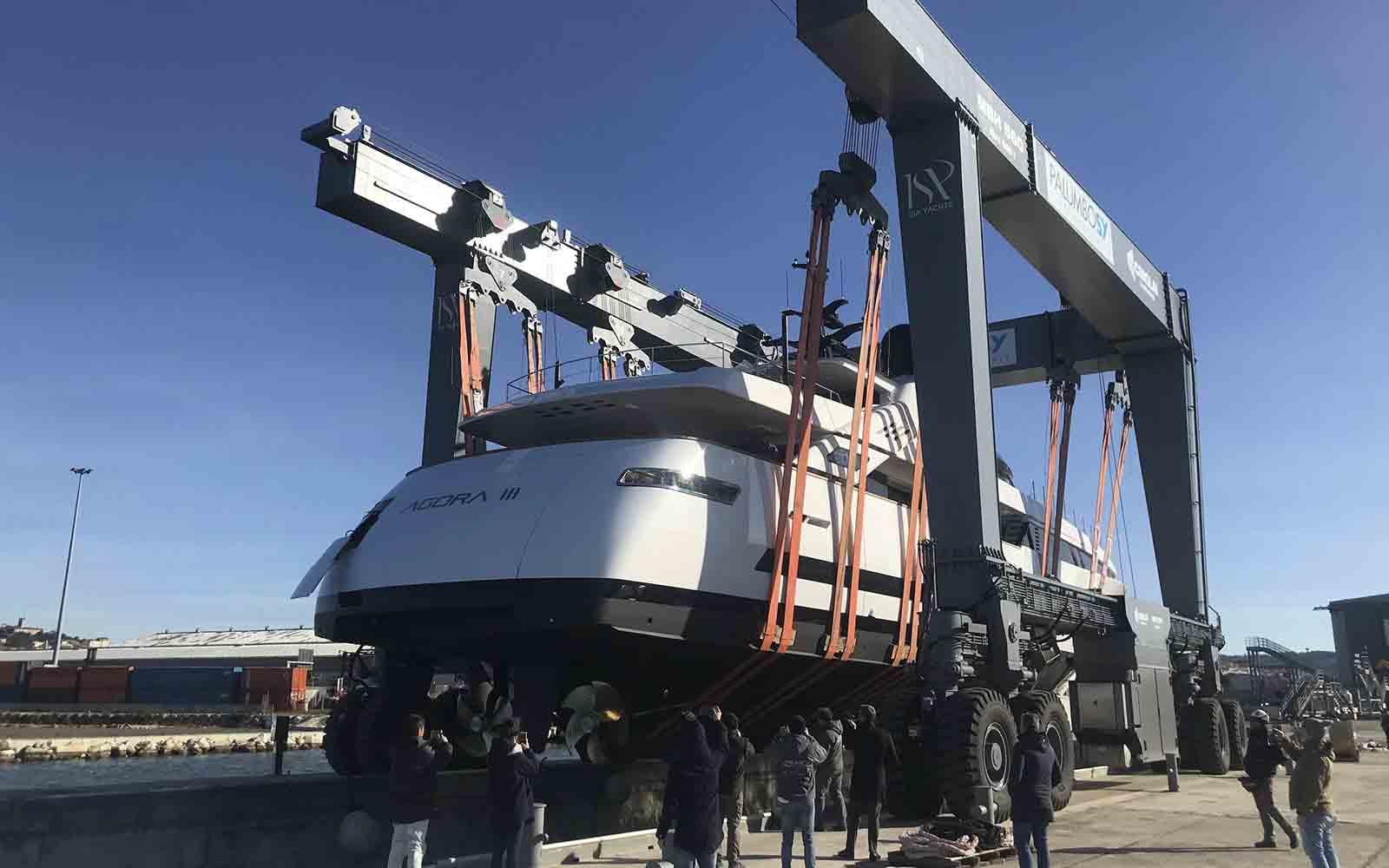 ISA Yachts Alloy 43 Agora III - boat shopping