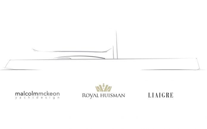 Royal Huisman revela projeto de veleiro de alto desempenho de 60m-boatshopping