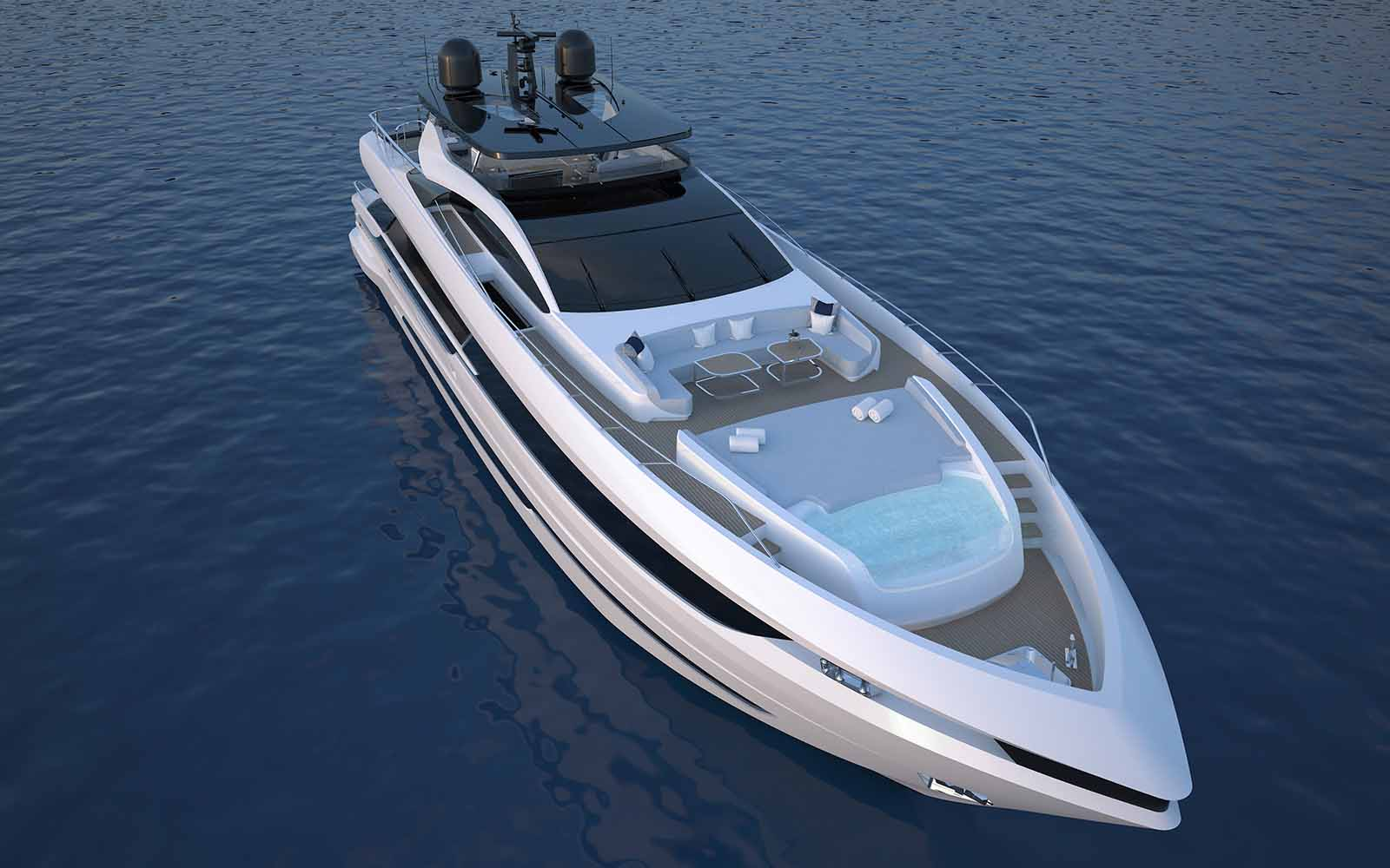 Mangusta apresenta nova GrandSport 30 - boat shopping 3