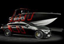 Merecedes AMG e Cigarette Racing apresentam o 41 AMG Carbon Edition no MIBS-boatshopping
