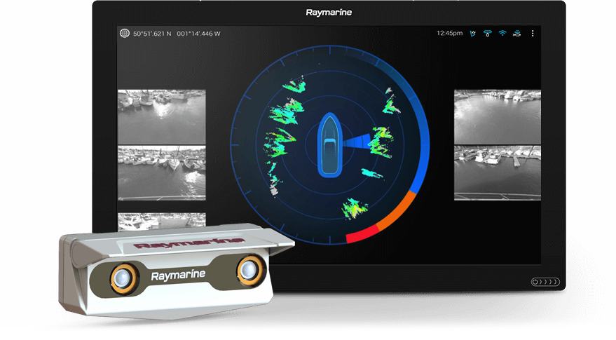 Raymarine DockSense - boat shopping 2