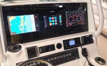 navico simrad display integrado - boat shopping 3