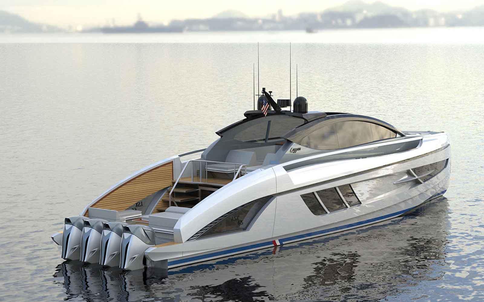 lazzara motor de popa lsx 65 - boat shopping