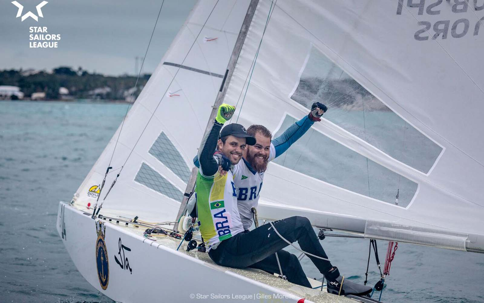 Brasil Star Sailors League Nations Gold Cup - boat shopping