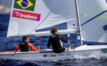 Fernanda Oliveira e Ana Barbachan campeas de vela - boat shopping