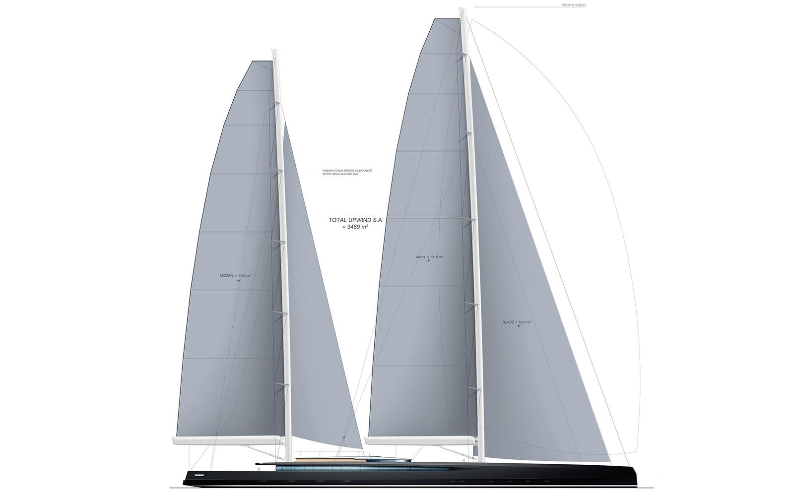 Super veleiro SY300 sailplan - boat shopping