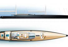 super veleiro SY300 exterior lines - boat shopping