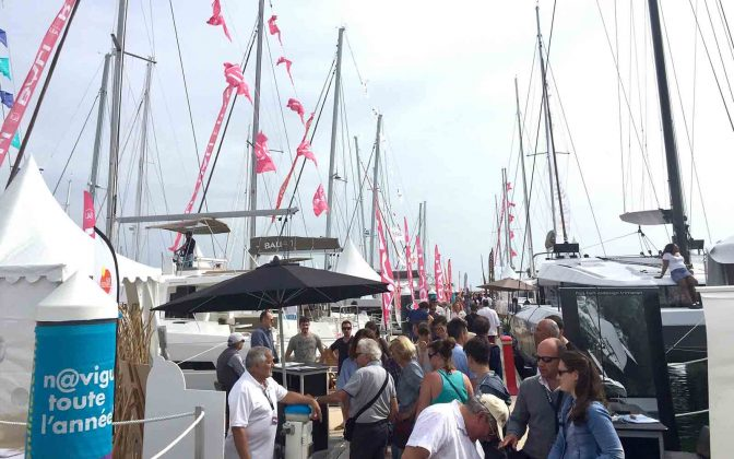 the multihull show 2 - boat shopping