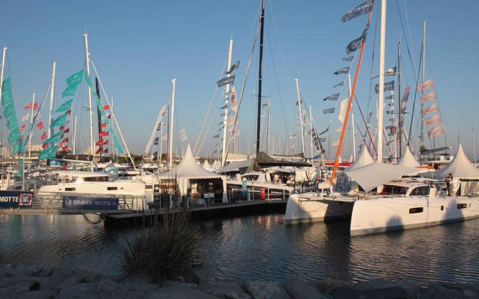 the multihull show - boat shopping