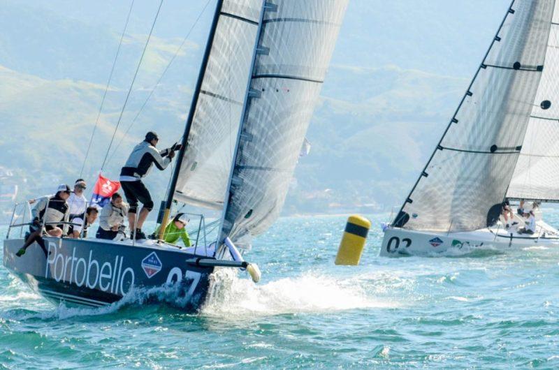 Semana Internacional de Vela de Ilhabela duas largadas - boat shopping
