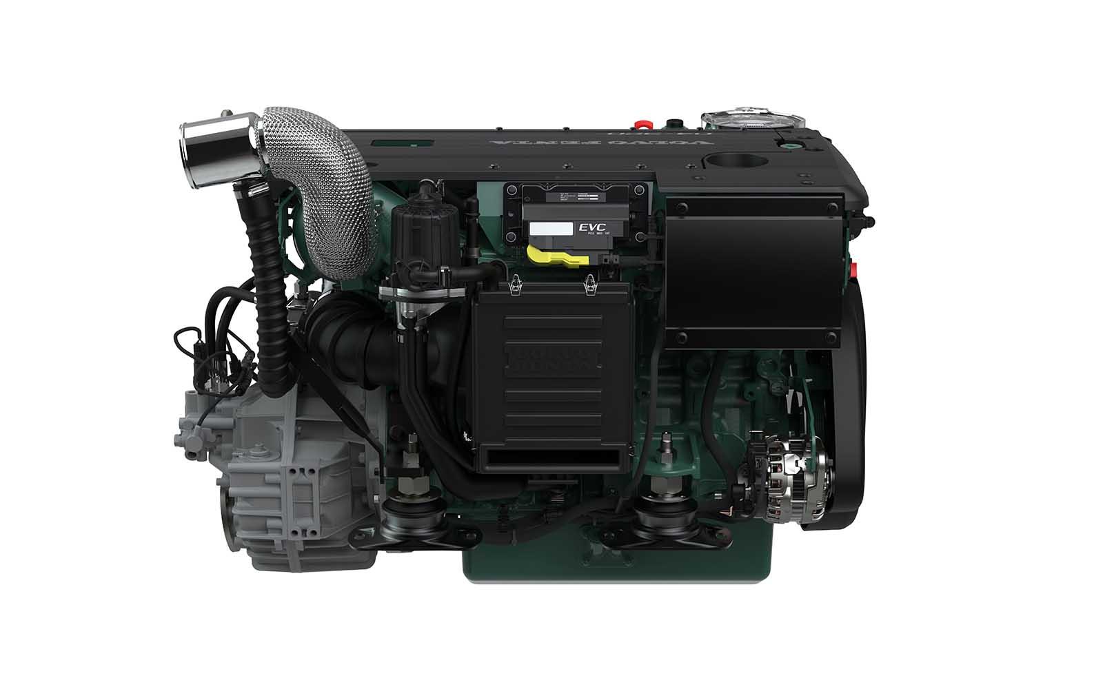 Volvo Penta novo motor D4 - boat shopping