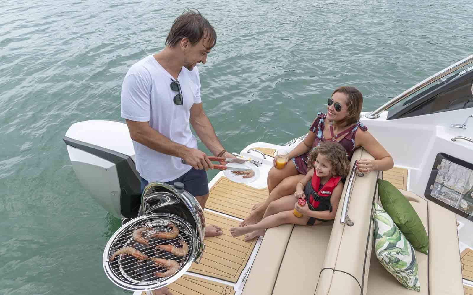 focker 242 outboard motor de popa - boat shopping 2
