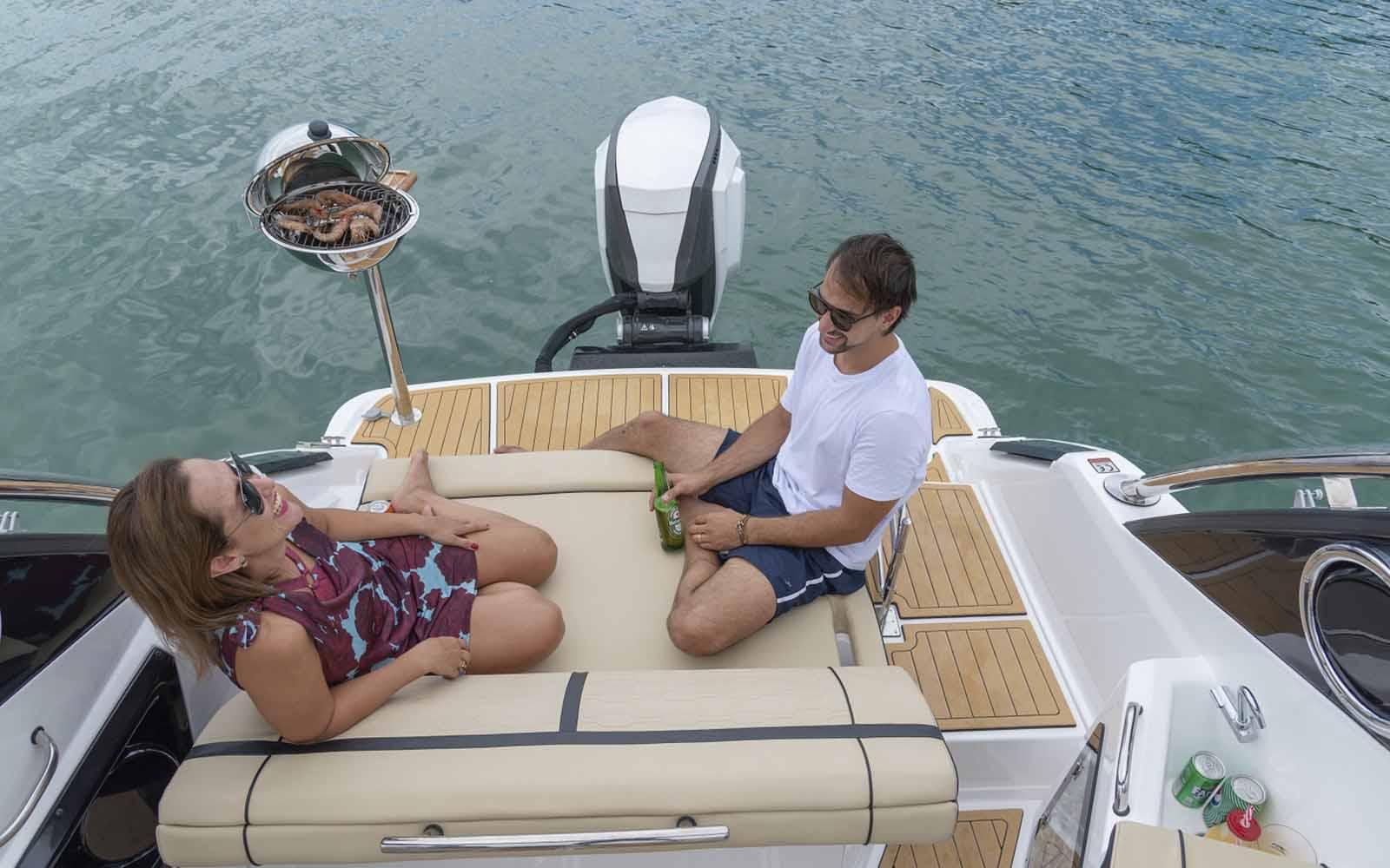 fibrafort focker outboard motor de popa - boat shopping 4