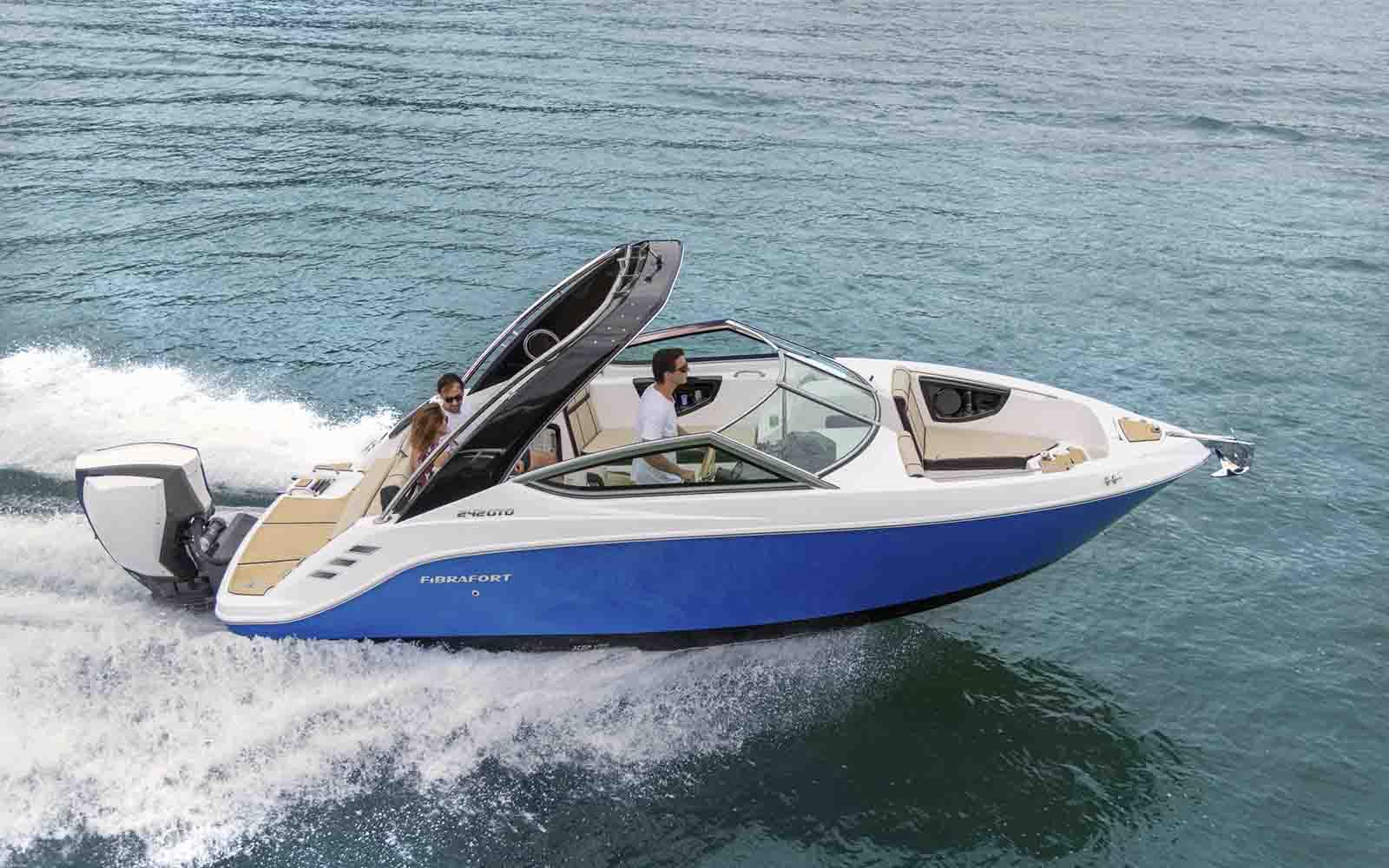 focker 242 outboard motor de popa - boat shopping