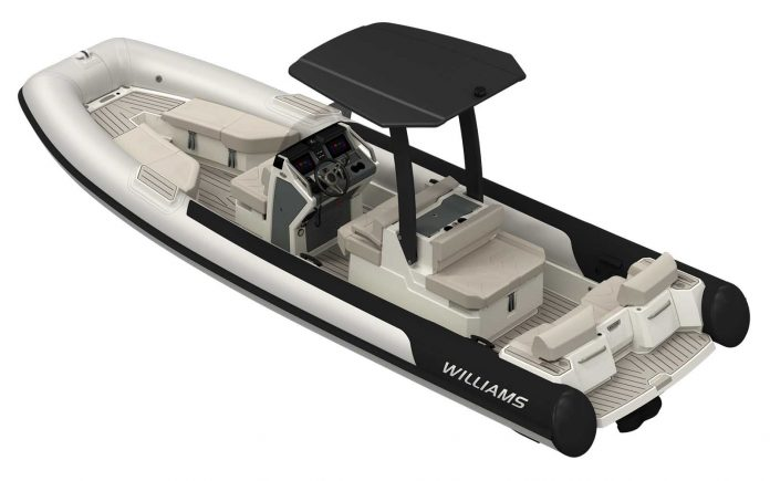 Nova linha de tender williams jet tender - boat shopping 1