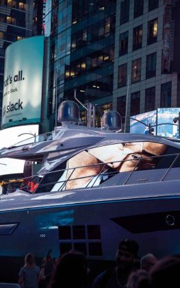 s6 times square new york design week - boat shopping