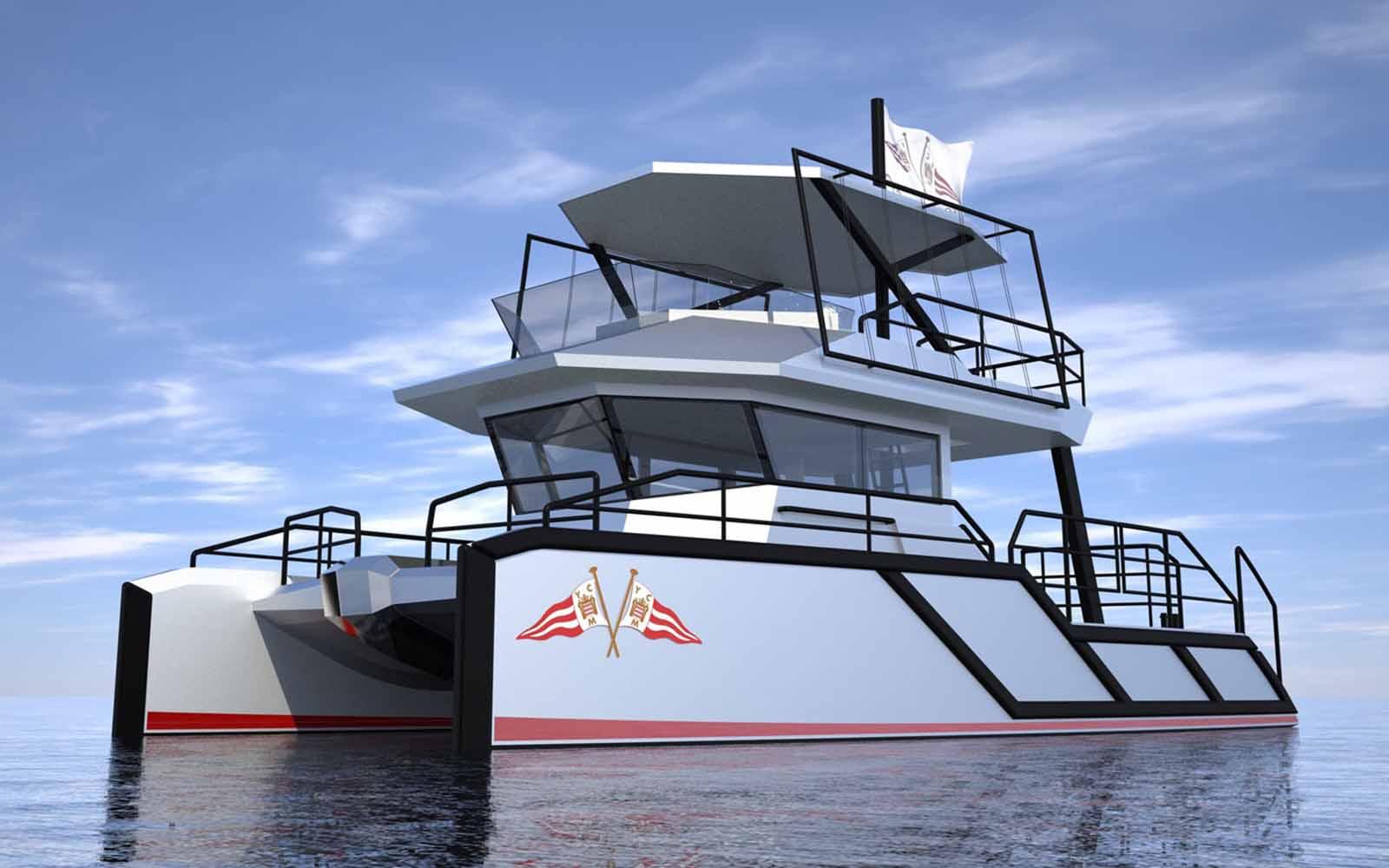 estaleiros zero emissão de carbono projeto iate - boat shopping