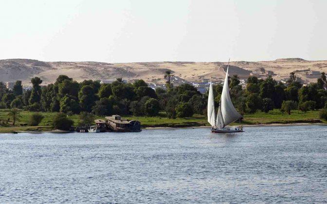 Charter Rio Nilo - boat shopping destinos