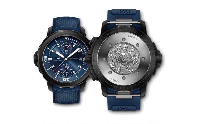 IWC Aquatimer Edição Laureus Sport For Good - boat shopping