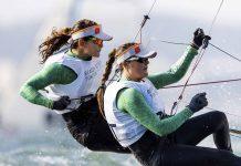 Martine Grael e Kahena Kunze bicampeãs toquio 2020 - boat shopping