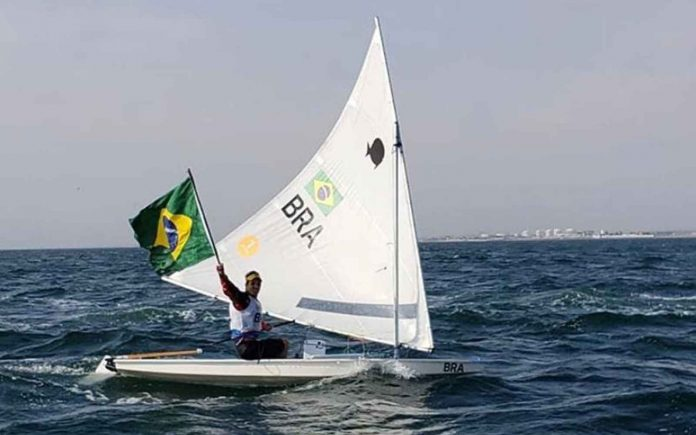 Matheus Dellagnelo medalha de ouro Pan-Americano - boat shopping 1