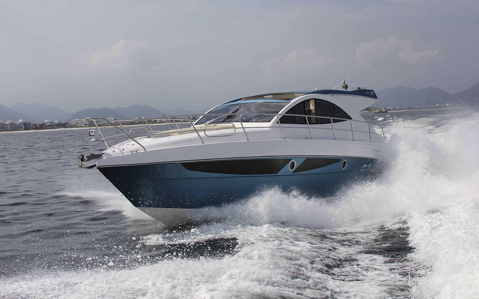 boat teste solara 380 HT - boat shopping