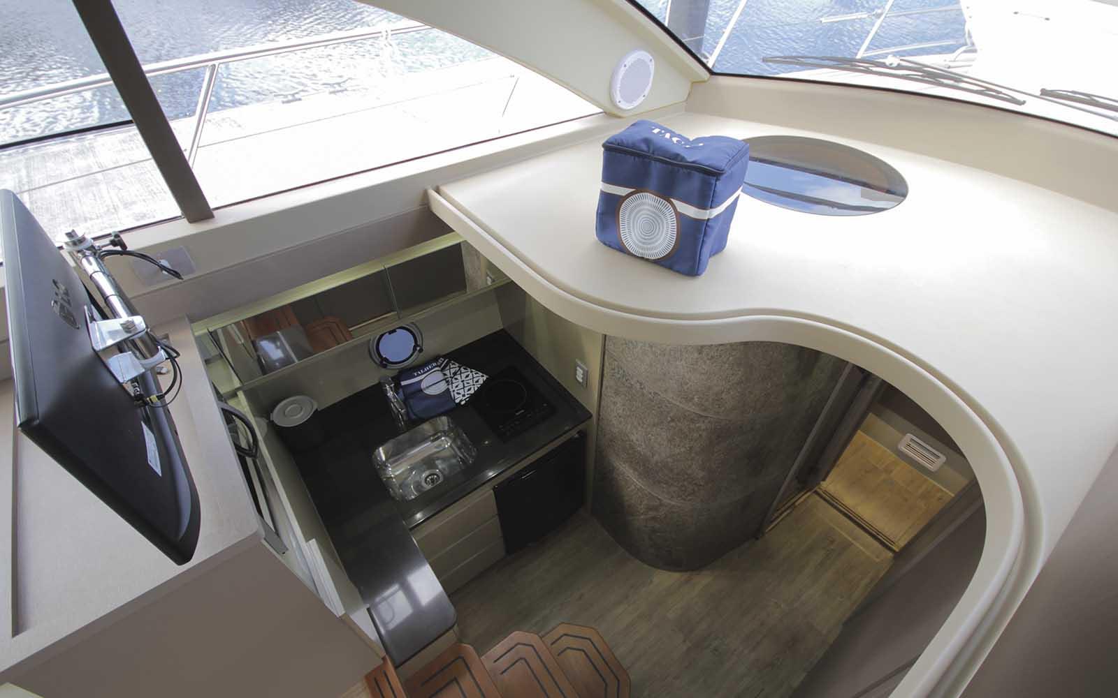 boat teste triton 460 - boat shopping