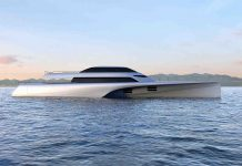 conceito de superiate trimaran - boat shopping