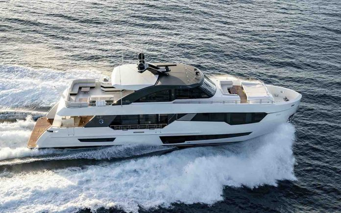 ocean alexander 90R cannes yachting festival - boat shopping 1