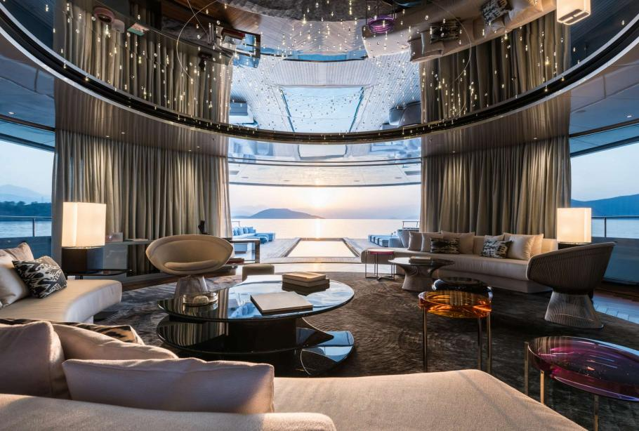 superiate savannah feadship interior - boat shopping