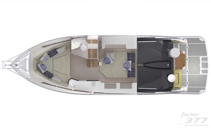fibrafort focker 377 Gran Turismo - boat shopping