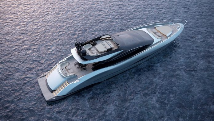 mangusta sport 140 render cannes yachting festival - boat shopping