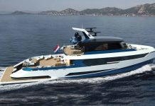 yacht blue angel hidrogenio - boat shopping