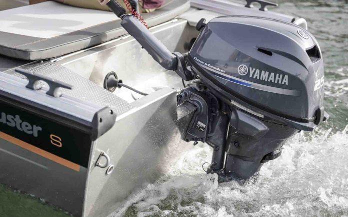 yamaha f25g - boat shopping 1
