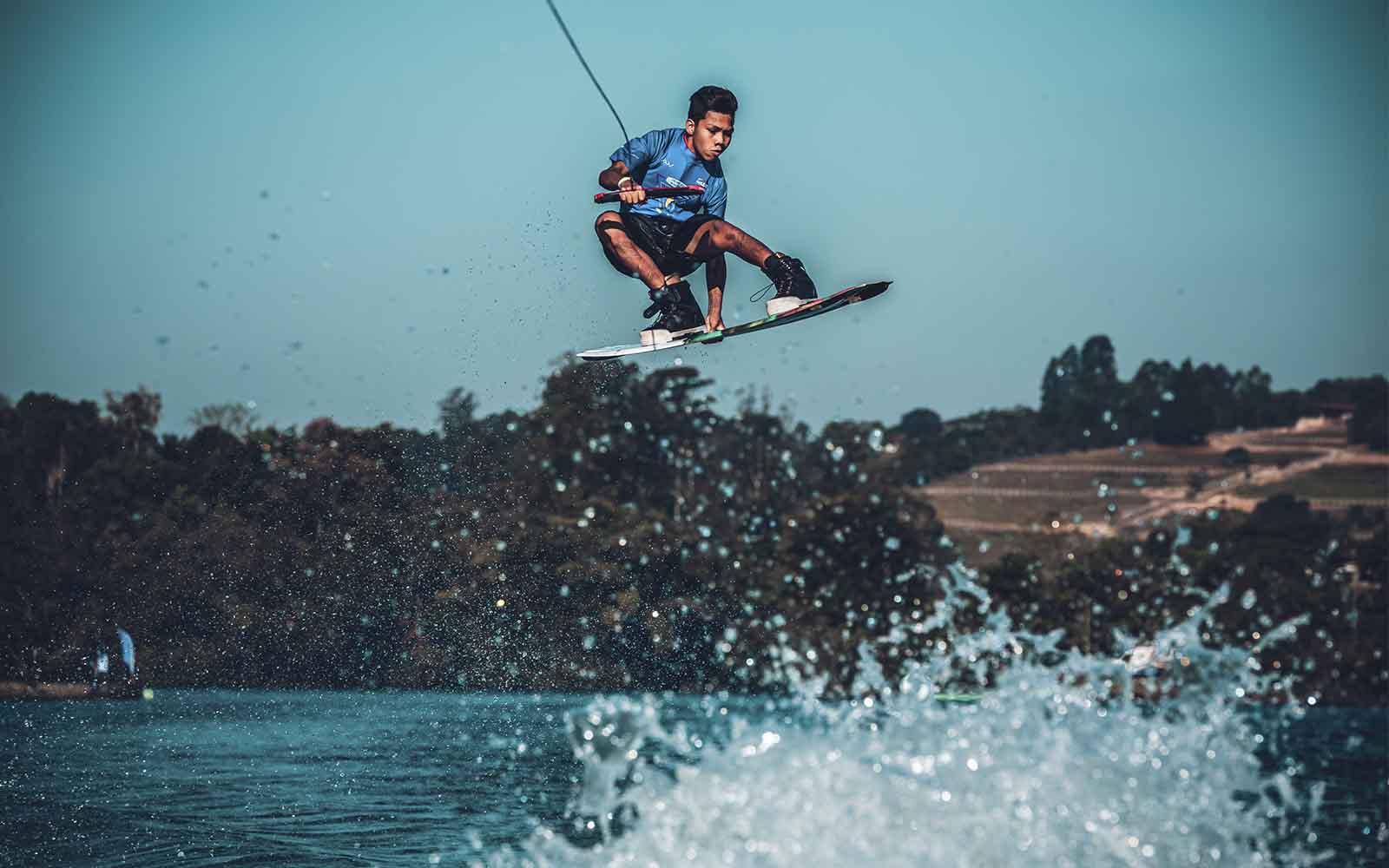 Brasil Latino Americano de Wakeboard - boat shopping 2